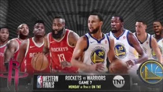 Warriors 2018 Playoffs: WCF, G7 vs Rockets (5-28-2018)