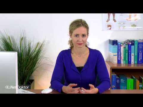 Wie rollen das Knie mit einer elastischen Binde nach oben