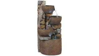 "Ashmill Rustic Urn 29"" High Fountain"