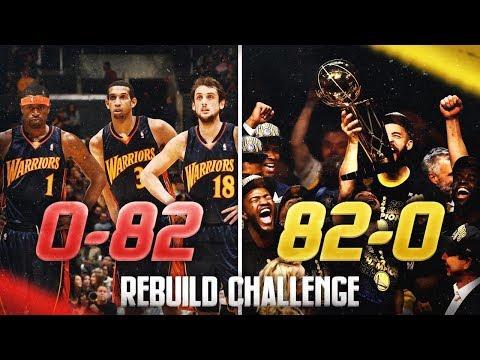 0-82 to 82-0 Rebuilding Challenge in NBA 2K19
