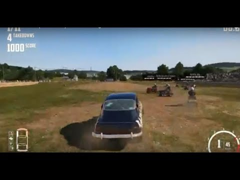 New Car Game : (Wreckfest) Not A Fair Fight