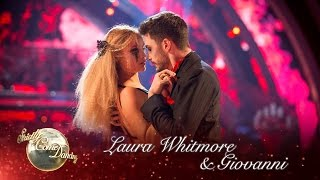 Laura Whitmore and Giovanni Pernice Tango to 'Paint It Black' - Strictly 2016: Halloween Week
