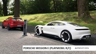 Porsche Mission E - Vorstellung des Playmobil-Modells mit Gewinnspiel