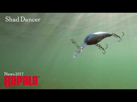 Воблер RAPALA SHAD DANCER SDD04-SFC фото №1