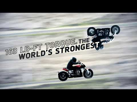 2020 Triumph Rocket 3 R in Shelby Township, Michigan - Video 1