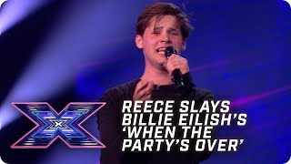 Reece SLAYS Billie Eilish's 'When The Party's Over' | X Factor: The Band | Arena Auditions