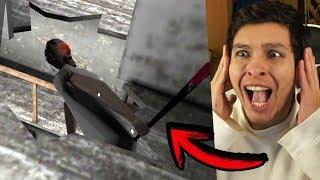 HE LANZADO A GRANNY POR EL AGUJERO DEL SEGUNDO PISO !! - Granny (Horror Game)