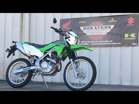 2021 Kawasaki KLX 230 in Greenville, North Carolina - Video 1