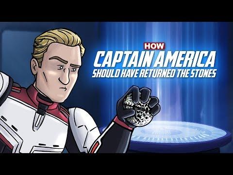 Jak měl Kapitán Amerika vrátit Kameny nekonečna