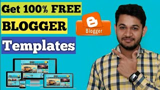 SEO Friendly Free Blogger Templates For Every Beginner : Get Free Anytime