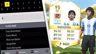 FIFA 17 LEGENDEN AUF PS4 😱🔥 NEW LEGENDS ft. Zidane, Maradona & Ronaldo