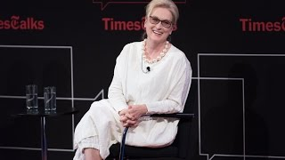 Meryl Streep I Interview I TimesTalks