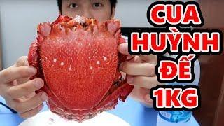 LẦN ĐẦU ĂN CUA HUỲNH ĐẾ 1KG || Vũ Liz TV