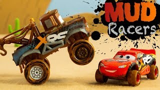 Disney Cars XRS Xtreme Racing Series Mud Racers suspensions McQueen Toys STOP MOTION Animation