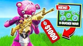 V-BUCKS WARS in Fortnite Battle Royale