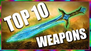 Top 10 Fun Weapons in Skyrim Special Edition
