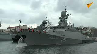 Rosyjskie okręty wpłynęły na Morze Czarne, gdzie mogą spotkać amerykańskie niszczyciele