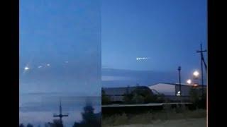 Неопознанный объект над Югрой 04. 08.2018.