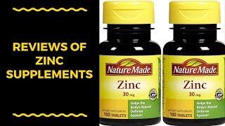 Reviews of Zinc Supplements - Best Zinc Supplements Can Buy