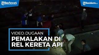Viral Video Dugaan Pemalakan di Rel Kereta Kebon Pisang Jakarta Utara, Polisi Kejar Para Pelaku