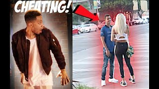 SPYING on my GIRLFRIEND for 24 HOURS!! *Caught her Cheating*