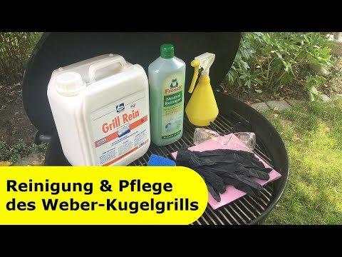051 - Reinigung & Pflege des Weber-Kugelgrills │ So funktioniert die Reinigung deines Kugelgrills
