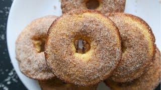 Low Carb Keto DONUTS | Cinnamon Sugar Donut Recipe | Easy Keto Recipes For Breakfast Or Dessert
