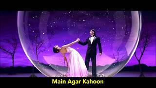 Main Agar Kahoon | Om Shanti Om | Sonu Nigam   - YouTube