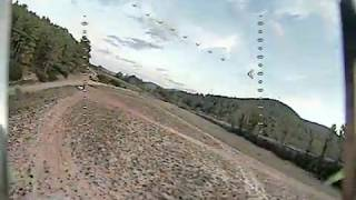 My first real fpv flight and I CRASH