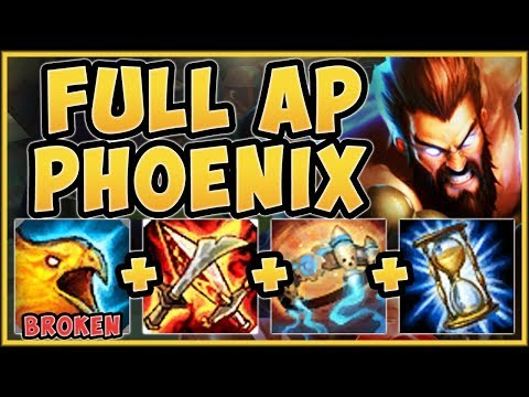 WTF!? REBORN PHOENIX FULL AP UDYR IS 100% NUTTY! FULL AP UDYR S9 TOP GAMEPLAY! - League of Legends