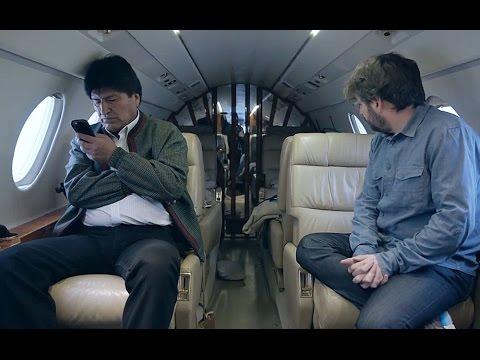 """Evo Morales: """"Para mí, el avión no es un lujo, es un instrumento de trabajo"""" - Salvados"""