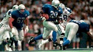 1994 WK 3 Detroit Lions (1-1) @ Dallas Cowboys (2-0) MNF, Barry Sanders Vs Emmitt Smith