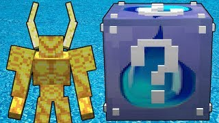 Minecraft Lucky Boss - Su Şans Blokları