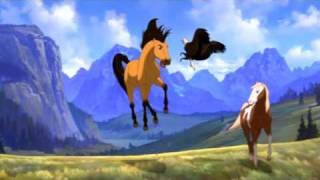 Лошади,  Детская песенка про молодую лошадь
