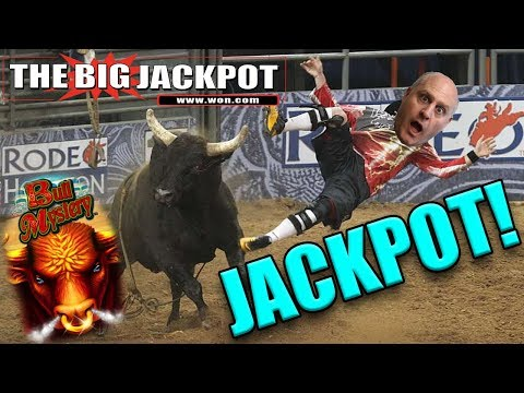 🎰 LINE HIT JACKPOT 🎰 BULL MYSTERY FINALLY PAYS OUT at $30/ SPIN!!
