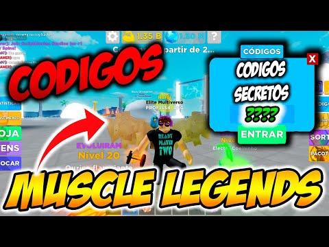 ROBLOX  Muscle Legends  CDIGOS Nova ATUALIZAO  Junho de 2021