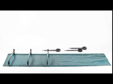 Смотреть видео Кровать Therm-a-rest LuxuryLite Mesh Cot Large