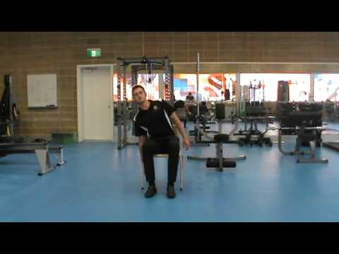 Side Bends   Seated Alternative