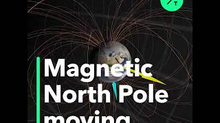 Magnetic North Pole Has Moved