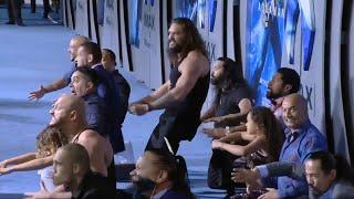 Jason Momoa Performs Haka At 'Aquaman' Premiere