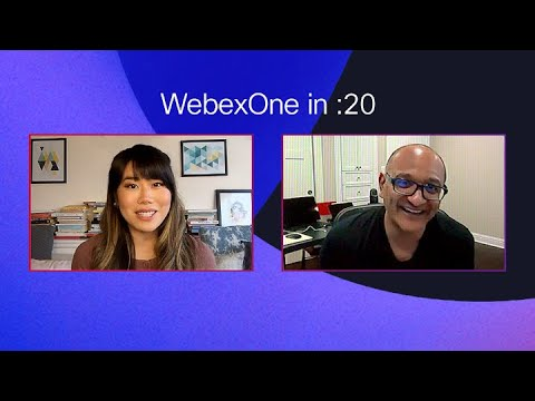 WebexOne: The 20-second challenge with Jeetu Patel