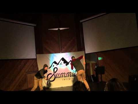 Uptown Funk Dance Battle - Saddleback Church Retreat