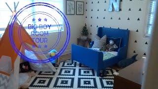 Nashs BIG Boy Room Tour | Toddler Room Decor