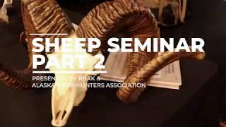 HOW TO JUDGE LEGAL RAMS! How to Hunt Dall Sheep in Alaska, & Where to Hunt -RHAK SEMINAR PART 2