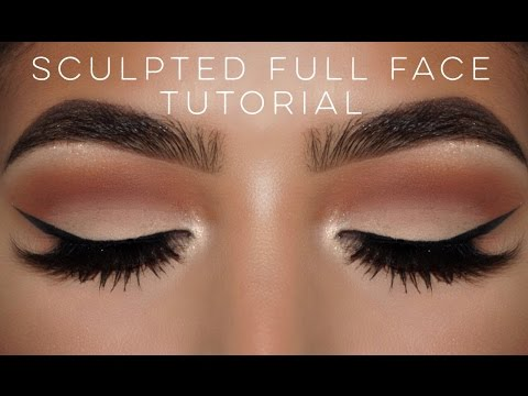 Completely Sculpted || Full Face Tutorial