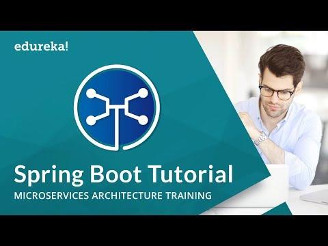 Spring Boot Tutorial | Microservices Architecture Training | Edureka