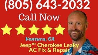 Air Conditioner (AC) Fix Leaky Condenser Jeep Cherokee Ventura, CA