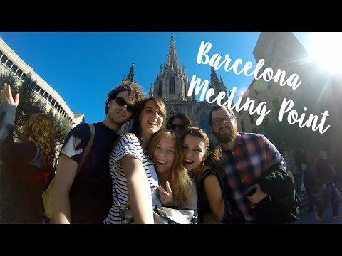 Un fin de semana en Barcelona #ErasmusMeetingPoint & Sagrada Familia