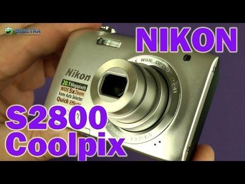 Распаковка Nikon Coolpix S2800 Silver