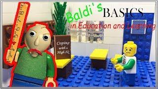 LEGO Мультфильм Baldi /  Baldi